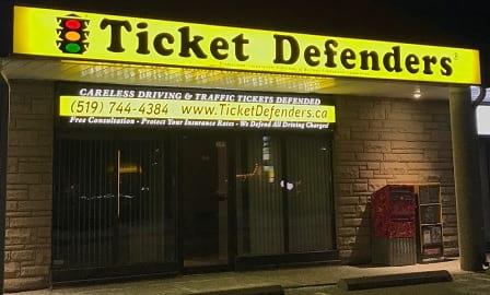 Kitchener Traffic Tickets & Kitchener Speeding Ticket Defence