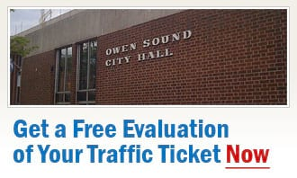 Owen Sound Traffic Tickets & Owen Sound Speeding Ticket Defence