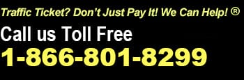 Traffic Tickets? We Can Help! Call Ticket Defenders Toll Free at 1-866-801-8299