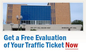 Windsor Traffic Tickets
